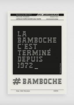 Bamboche-IBM 1972